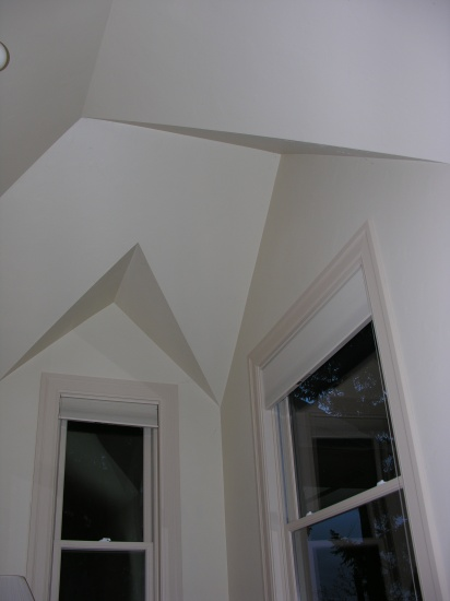 Tricky ceiling